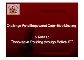 Challenge Fund Empowered Committee ...