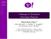 Challenges Distributed Information ...
