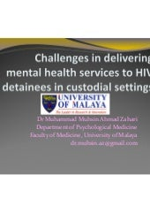 Challenges in delivering mental hea...
