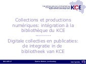 BIBforum 2011 - Managing e-collecti...