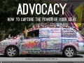 The Power of Your Ideas: Writing for Advocacy