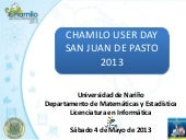 Chamilo User Day sede San Jaun de P...