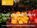 Food Loss and Waste, Champions 12.3 #champions123
