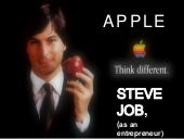 STEVE JOB n apple