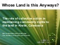Whose Land is this Anyways? The role of collective action in maintaining community rights to the land in Kratie, Cambodia