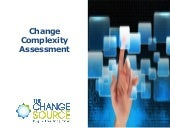 Change complexity assessment