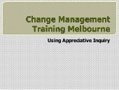 Change Management Training Melbourn...