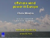 Offshore wind power presentation fo...