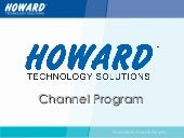 Howard Channel Program