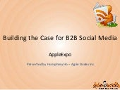 Building the Case for B2B Social Media