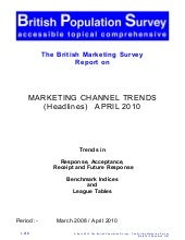 Channel Trends Headlines April 2010