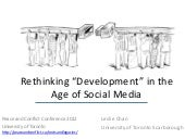 Rethinking Development in the Age o...