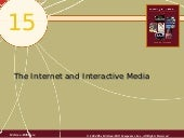 Chap15 The Internet And Interactive...