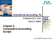 International Accounting:Comparativ...