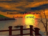 Chapter 11 Freedom in a Political a...