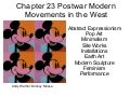 KCC Art 211 Ch 23 Postwar Modern Movements In The West