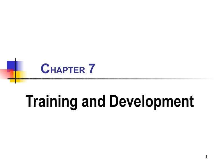 training & development essay Employee's behavior in a way that will help company to achieve and maintain their main objectives and goals development of employees and training is vital to the.