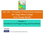 Chapter 01 Introduction to Visual B...