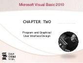 Chapter 02 - Program and Grapahical...
