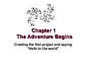 Chapter+1 +the+adventure+begins