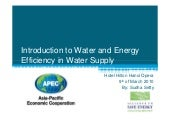 1: Introduction to Water and Energy...