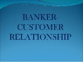 Chapter 10   banker- customer relat...