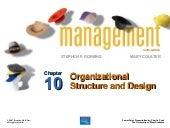 Chapter 10 Organizational Structure...