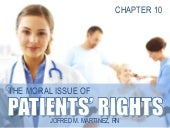 Bioethics Patient's Rights