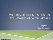 Chapter 11 - Web Design