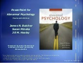 CMC Abnormal Psychology Chapter11