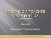 Introduction to Education, Chapter ...