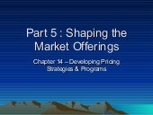 Chapter 14 Developing Pricing Strat...