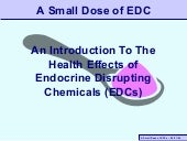 Endocrine Disruptors by @toxipedia