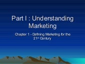 Chapter 1 Defining Marketing For Th...