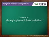 Managing Leased Accomodations