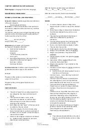 Chapter 2 grammatical metalanguage