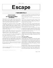 Chapter 3: Escape