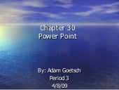 Chapter 30 Power Point[1]