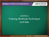 Training Methods Technique and Aids