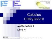 Chapter 4  Integration