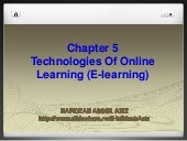 Technologies of Online Learning (E-...