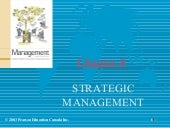 Chapter 8   Strategic Management