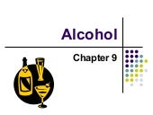 Chapter 9   Alcohol
