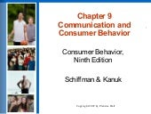 Chapter 9 Communication And Consume...