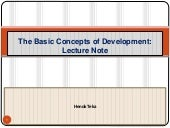 Chapter i  basic concepts of develo...