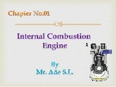 Basics of IC engine