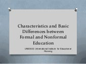 Characteristics and basic differenc...