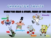 Characters Traits and Functions by ...