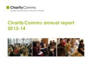 CharityComms annual report 2013-14