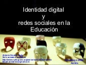 Charla Identidad Digital Edublogs20...